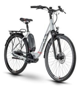 Husqvarna Bicycles Eco City 2 CB Silver / Red 56