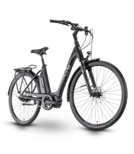 Husqvarna Bicycles Eco City 4 FW Black / Silver Matt M