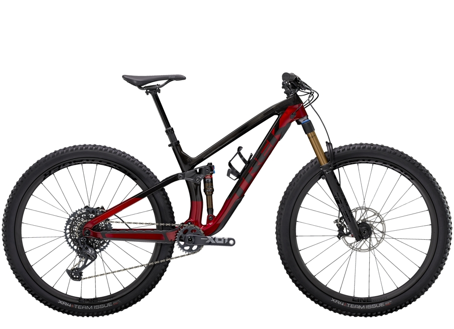 Trek Fuel EX 9.9 XO1 S (29  wheel) Raw Carbon/Rage Red